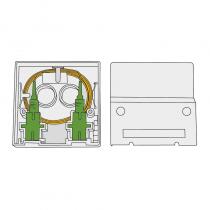 Cutie terminala 2 adaptori SC Simplex/LC Duplex, neechipata, AFL Hyperscale