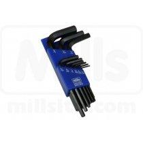 Trusa chei imbus Mills 1.5 - 10mm (set 9 piese)