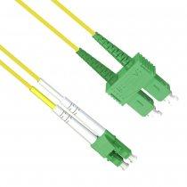 Patch cord LC/APC la SC/APC SM 2m Duplex, AFL Hyperscale