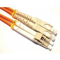 Patch cord LC/UPC la SC/UPC OM1 1m Duplex, AFL Hyperscale