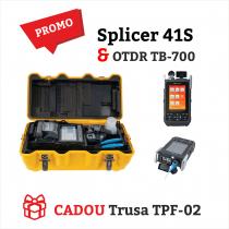 PROMO - Aparat de sudura fibra optica Fujikura 41S + OTDR TriBrer TB-700