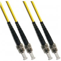 Patch cord ST/UPC la ST/UPC SM 1m Duplex, AFL Hyperscale