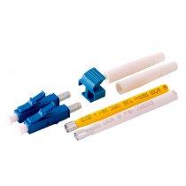 Conector LC/UPC Duplex Single Mode pentru cablu cu diametru de 2mm Albastru Mills