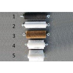 Perie de 97mm diametru din plastic pentru curatat tubulatura Lancier