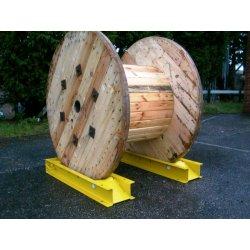 Set suporti pentru tamburi cablu (max 1500kg) Mills