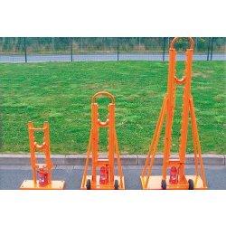 Suporti hidraulici pentru tamburi Lancier cu greutate maxima de 4000kg si diametrul intre 900 si 1600mm