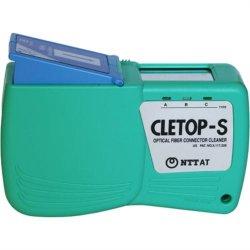 Caseta curatare conectori optici Cletop S-B, banda albastra