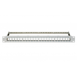 Patch panel modular, 24 module RJ45 TOOLLESS, Schrack