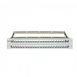 Patch panel modular 48 module RJ45 TOOLLESS, Schrack