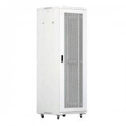 Cabinet rack de podea 27U Xcab, 600mm x 800mm, usa fata si spate metal perforat