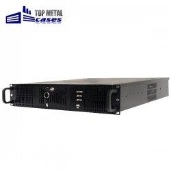 "Carcasa 19"" TOP METAL CASES rackmount 2U Xcab, mATX, ATX cu sursa 650W PFC"