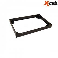 Plinta pentru rack 600/1000 Xcab, 100mm inaltime, neagra