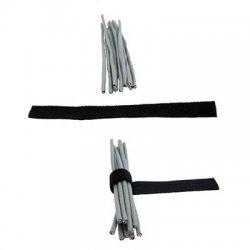 Bride organizare cabluri, sistem hook and loop (arici), 20 cm