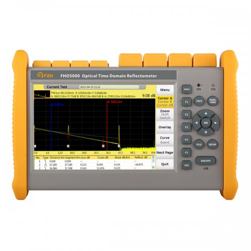 OTDR fibra optica Grandway FHO5000-1625, Singlemode, gama dinamica 40dB (1625nm), ecran tactil - produs demo