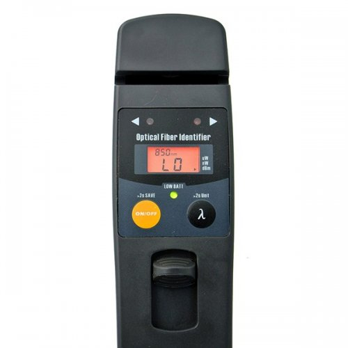 Identificator fibra optica TriBrer AFI430C, power metru (+26 ~ -50dBm), ecran LCD