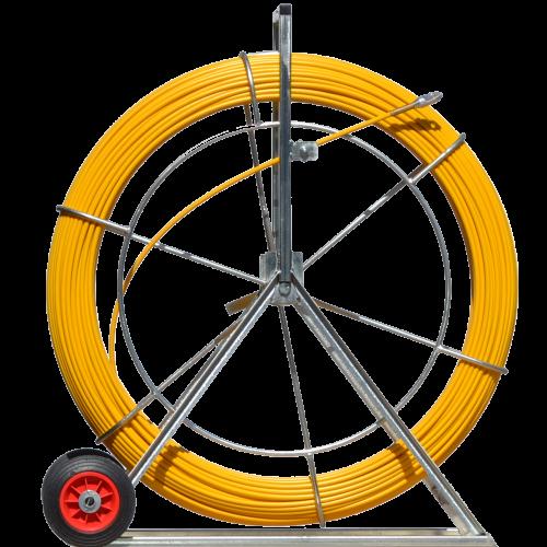 Tragator cablu 9mm x 200m Mills, 40kg