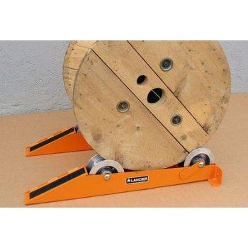 Suporti tamburi cu greutate maxima de 1000kg si diametrul intre 300 si 1600mm, set 2 bucati