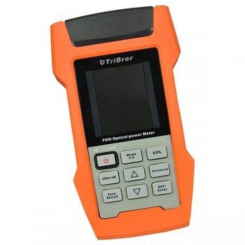 Power metru PON TriBrer AOF500, gama dinamica 1310 nm: +10 ~ - 35 dBm/1490 nm: +10 ~ - 50 dBm/1550 nm: +25 ~ - 50 dBm