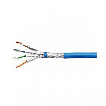 Cablu cat 7a S/FTP, 1200 Mhz, 50%, manta LS0H albastra, Schrack