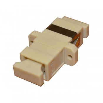 Adaptor fibra optica Fibrefab SC/PC MM (OM1, OM2, OM3, OM4) simplex
