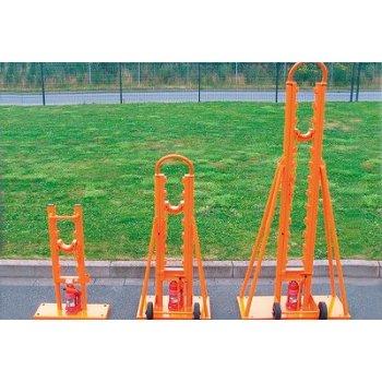Suporti hidraulici tamburi cu greutate maxima de 4000kg si diametrul intre 900 si 1600mm, set 2 bucati (fara ax pentru tamburi)