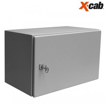 Cabinet rack metalic de exterior 7U Xcab, 600mm x 600mm, IP-55, montare pe perete