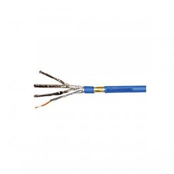 Cablu cat 6a F/FTP, 500MHz, manta LS0H albastra, Schrack