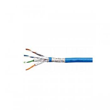Cablu cat 7 S/FTP, manta LS0H albastra, Schrack