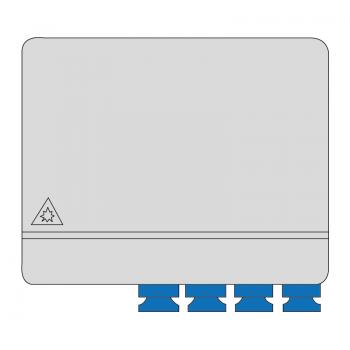 Cutie terminala AFL Hyperscale, 4 X SC Simplex sau LC Duplex, neechipata