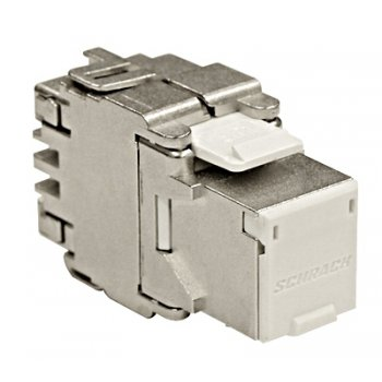 Modul RJ45 ecranat, Cat6a TOOLLESS, Schrack