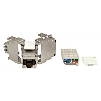 Modul RJ45 ecranat, Cat6 TOOLLESS, Schrack