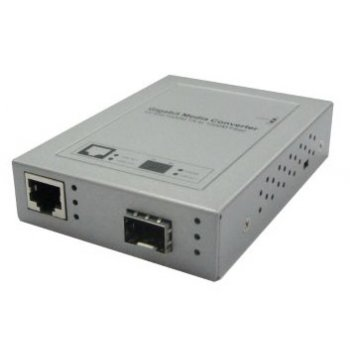 Media convertor GIGABIT 1 port RJ45