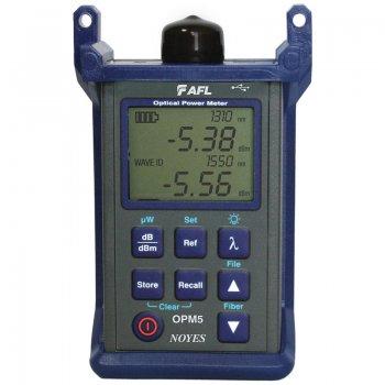 Power metru optic 850/980/1310/1490/1550/1625nm, Dual Wave ID AFL OPM5-4D