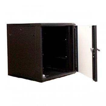 Cabinet rack de perete 12U Xcab, 600mm x 600mm, montare pe perete, design nou