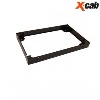 Plinta pentru rack 800/1000 Xcab, 100mm inaltime, neagra