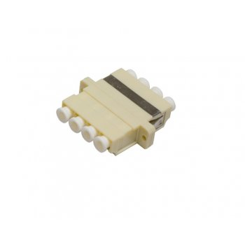Adaptor fibra optica LC/PC MM (OM1, OM2, OM3, OM4) Quad, AFL Hyperscale