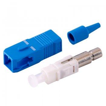 Conector SC/UPC Single Mode pentru cablu cu diametru de 900um Albastru Mills