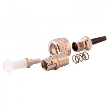 Conector FC/UPC Single Mode pentru cablu cu diametru de 3mm Negru Mills