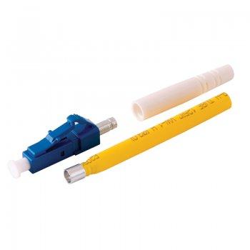 Conector LC/UPC Single Mode pentru cablu cu diametru de 2mm Albastru Mills