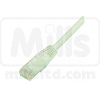 Patch cord Cat 6 UTP LSOH 0.5m (alb) Fusion 10buc.
