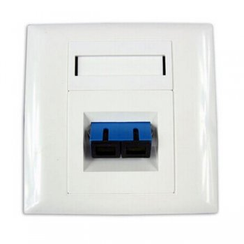 Priza perete 1 adaptor SC Duplex TriBrer, neechipata