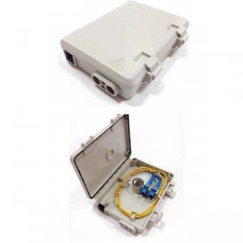 Cutie distributie 2 adaptori SC Simplex/LC Duplex, neechipata