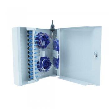 Cutie distributie 24 adaptori SC Simplex/LC Duplex, W27 AFL Hyperscale, neechipata, inchidere cu cheie